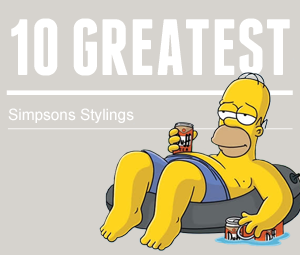 10 Greatest: Simpsons Stylings