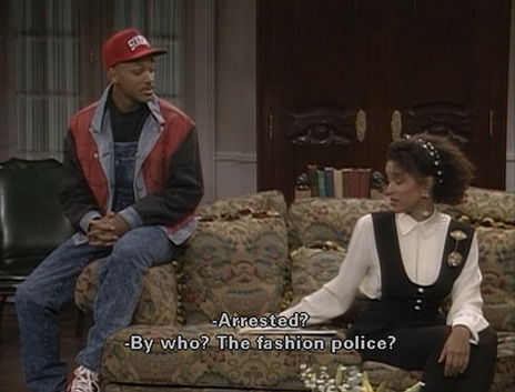 Fresh Prince Fashion Police