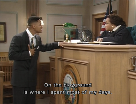 Fresh Prince Courtroom
