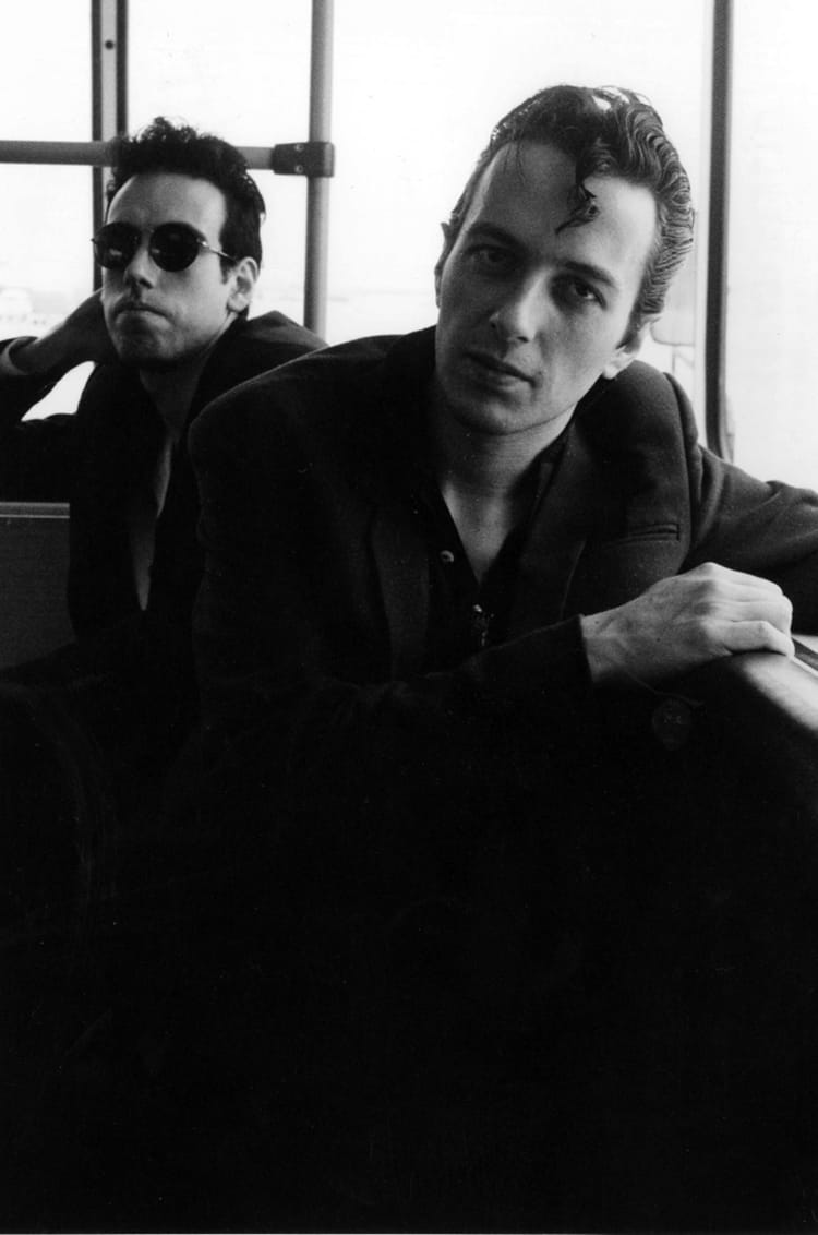 The Clash - Mick Jones and Joe Strummer