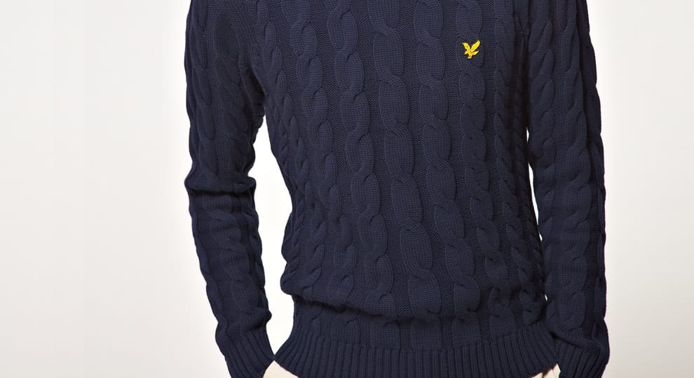 Lyle & Scott cable knit