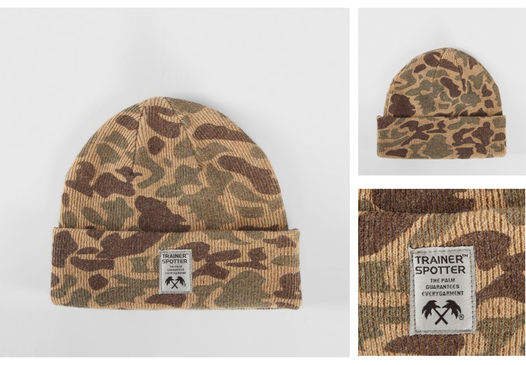 TS Camo Beanie