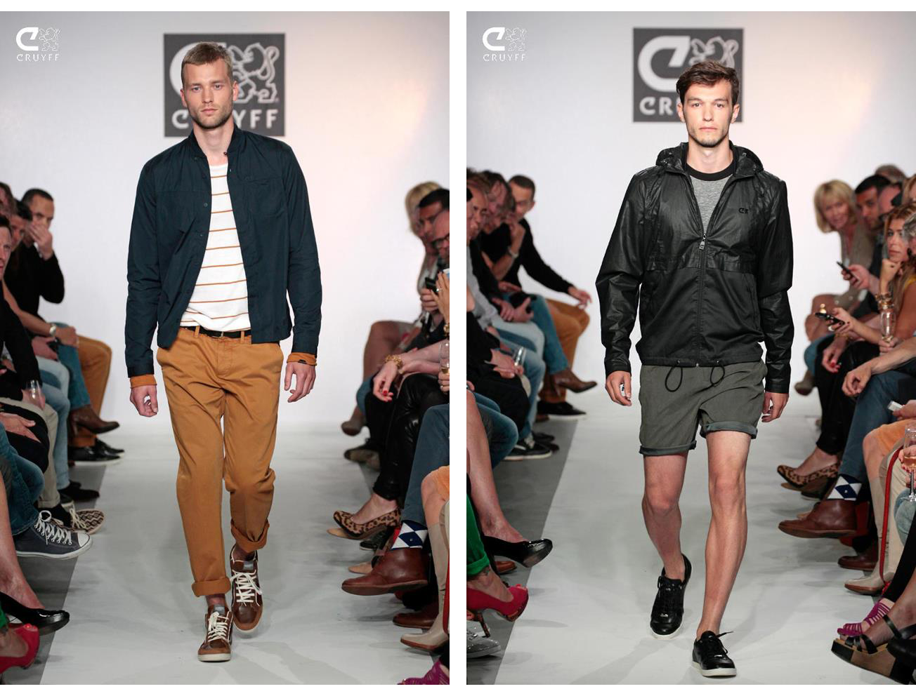 Cruyff Classics Clothing Launch - Catwalk
