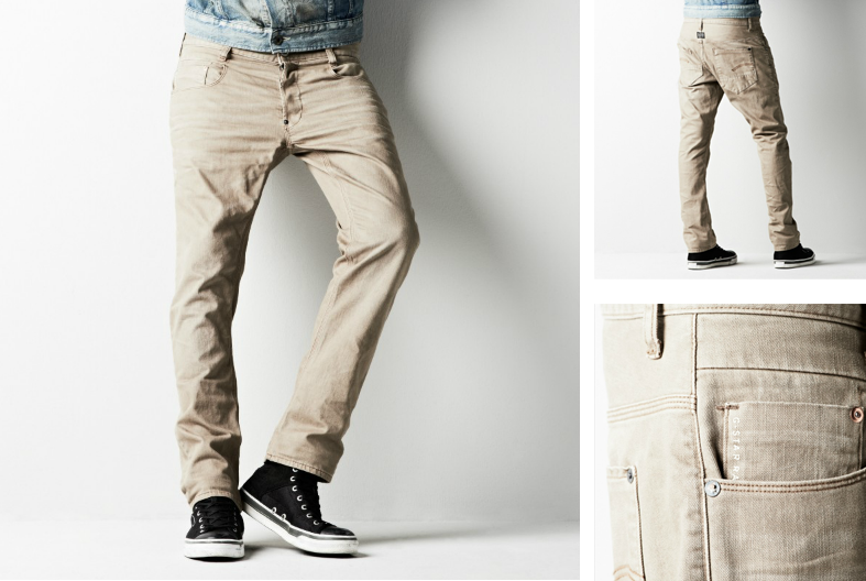 G-Star New Radar Slim Cotton Jeans