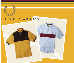 Bradley Wiggins x Fred Perry: Autumn 2013