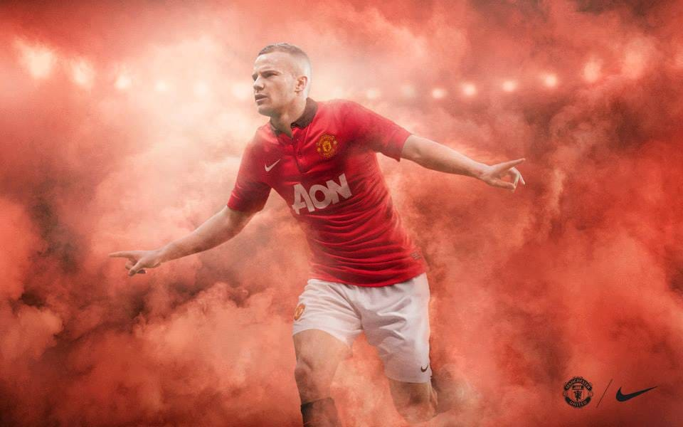 Manchester United: Nike Home Kit 2013-14