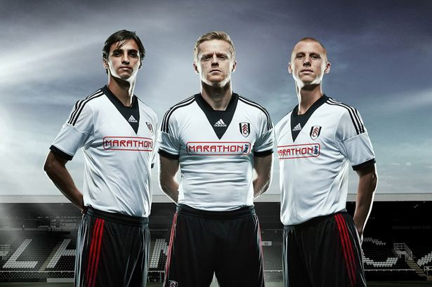 Fulham: Adidas Home Kit 2013-14