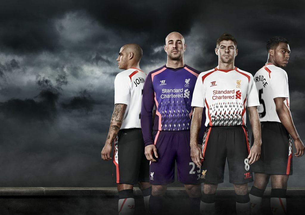 Liverpool: Warrior Away Kit 2013-14