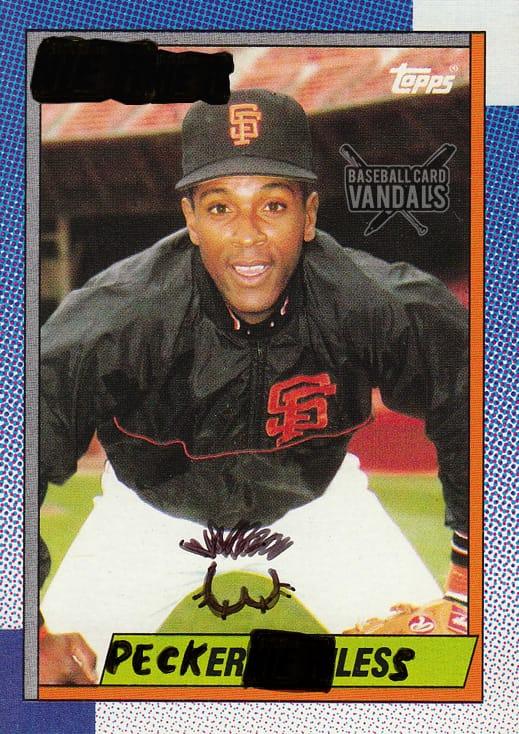 Baseball Card Vandals #4