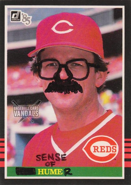 Baseball Card Vandals #1