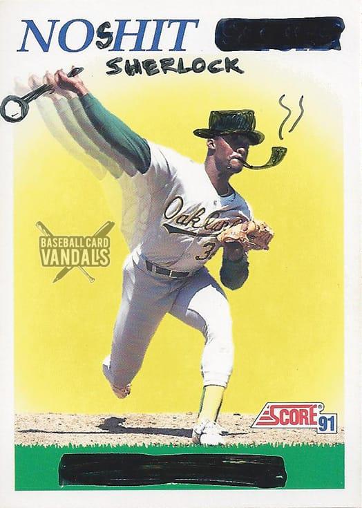 Baseball Card Vandals #2
