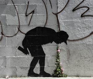ART | New Banksy Piece Springs Up In L.A.