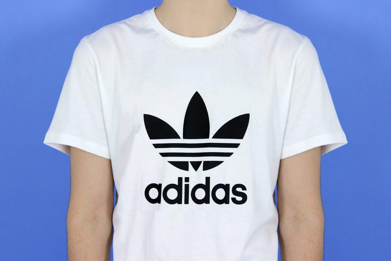 fa4702b0fd6e Adidas Originals Adi Trefoil Tee – White Black