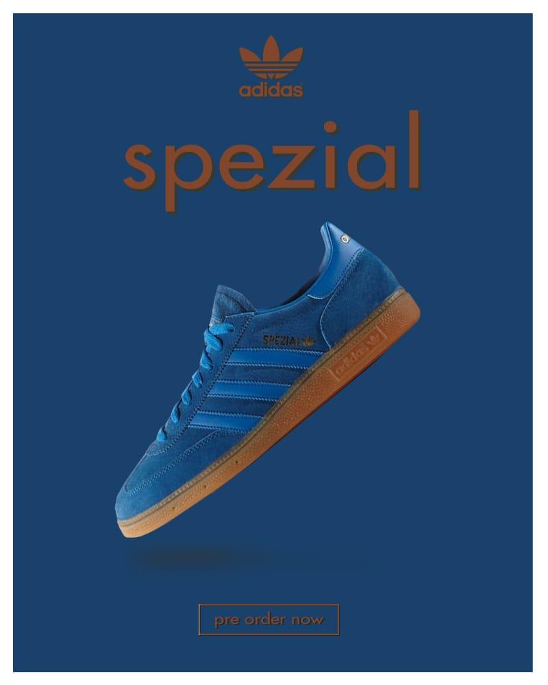 Adidas Originals Spezial Bluebird
