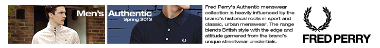 Black Fred Perry