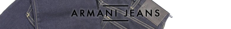 Black Armani Jeans Belts