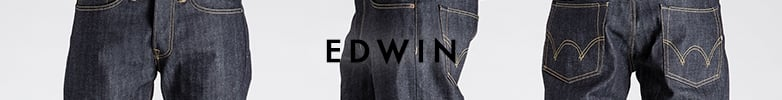 Blue Edwin Menswear