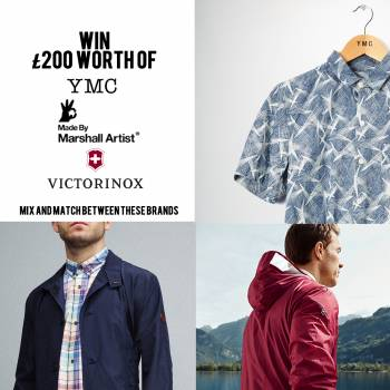 WIN! £200 worth of YMC, Marshall Artist and Victorinox.