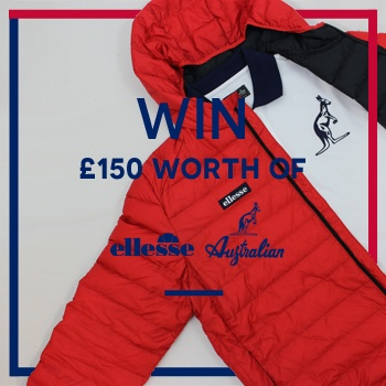 WIN £150 Worth of ELLESSE and AUSTRALIAN!!
