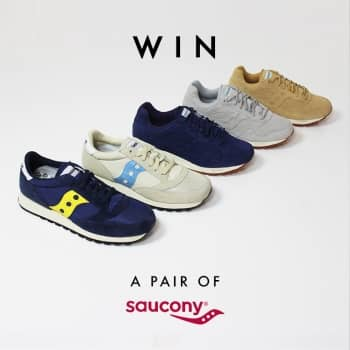 Win a Pair of SS17 Saucony Trainers
