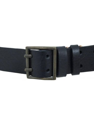 Nudie Jeans Finnsson Double Pin Belt - Black