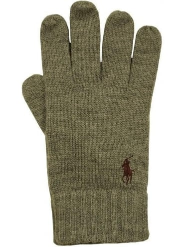 Polo Ralph Lauren Merino Wool Gloves - Beige