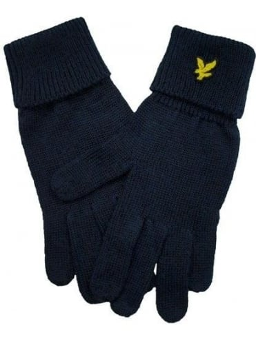Lyle and Scott Plain Gloves - Black