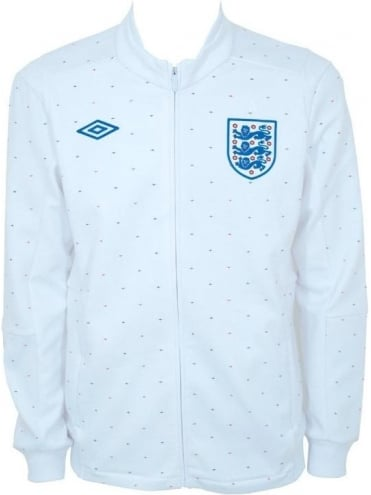 Umbro England LTD Edition Track Jacket - White