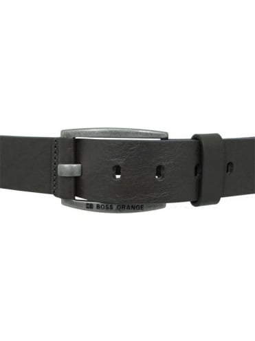 Hugo Boss Orange Bakaba leather belt - Brown