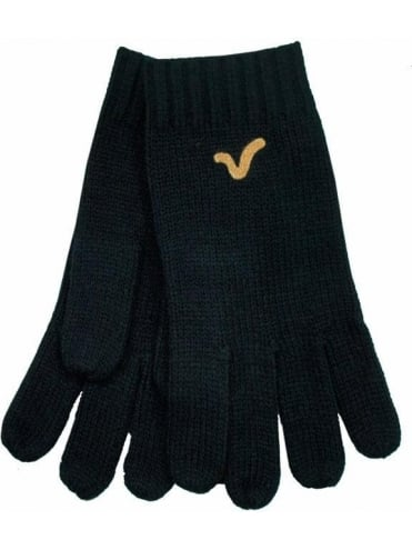 Voi Jeans Preston Knitted Gloves - Black