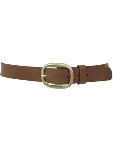 G-Star Magnus Leather Belt - Brown