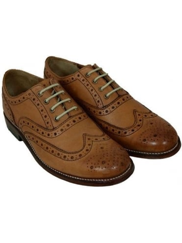 Grenson William Brogue - Tan