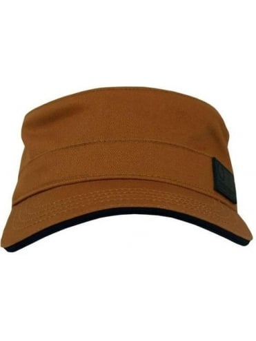 Fred Perry Military Cap - Brown Sugar