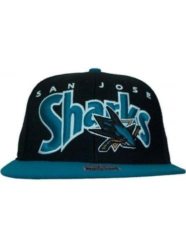 47 Brand San Jose Sharks Cap - Black