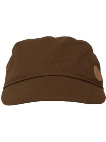 Fred Perry Military Cap - Oak