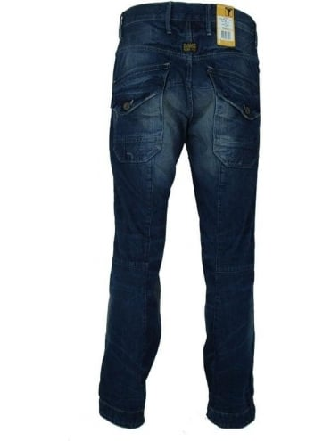 G-Star SKFF 5620 3D Tapered Jeans - Medium Aged