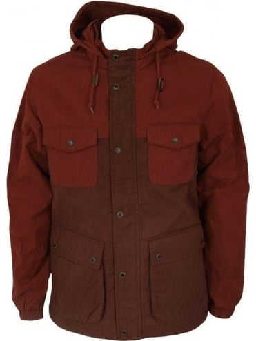 Farah Vintage The Livingstone Coat - Rust