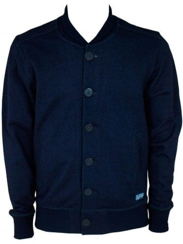 G-Star Anchor Sweat Cardigan - Indigo