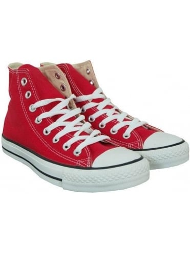 Converse Chuck Taylor All Star Hi Top - Red