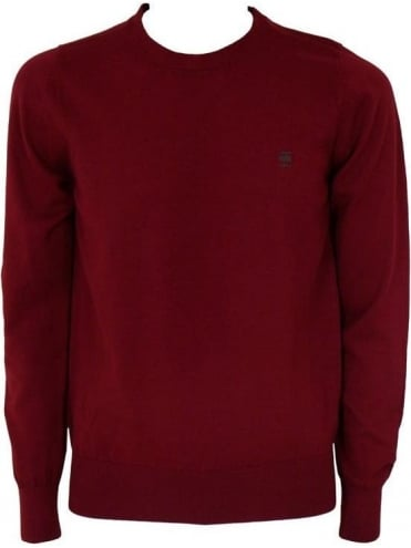 G-Star CL Study Crew Neck Knit - Red