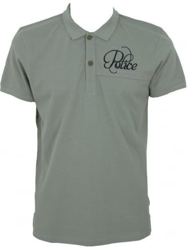 883 Police Tikki Polo - Grey