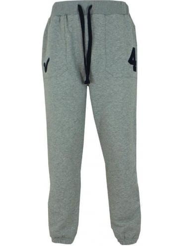 Voi Jeans Wintery Num Jogger Bottoms - Light Grey