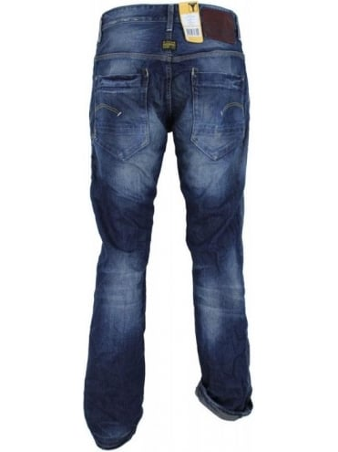 G-Star New Radar Tapered Jeans - Medium Aged