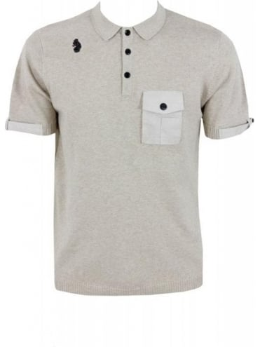 Luke 1977 Conquest Military Polo - Stone