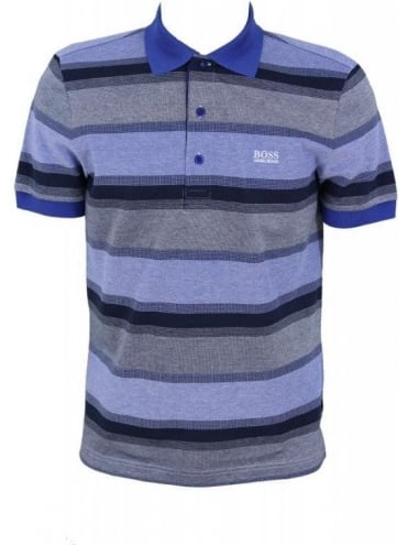Hugo Boss Green Paddy 2 Polo - Medium Blue