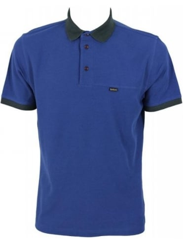Barbour Bracken Polo - Deep Blue