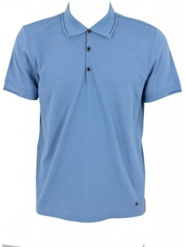 Hugo Boss Orange Pejo 1 Polo - Open Blue