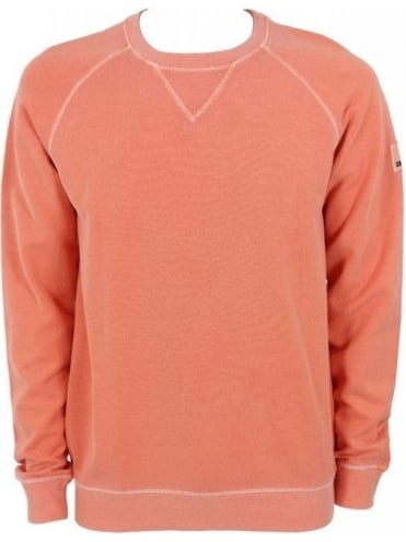 Hugo Boss Orange Wheel Sweat - Dark Orange