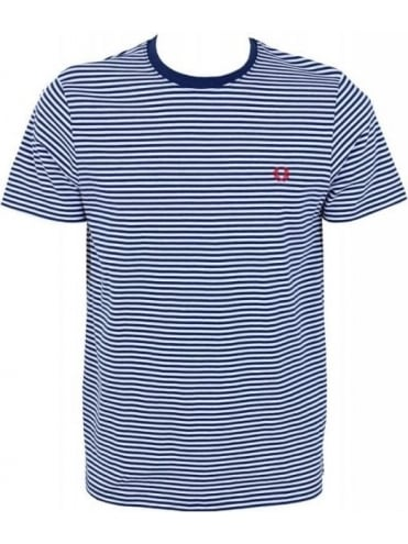 Fred Perry Sharp Stripe T.Shirt - Indigo