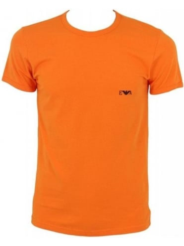 Emporio Armani EA Eagle Logo T.Shirt - Orange